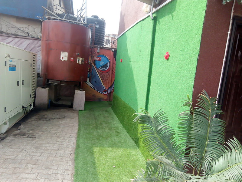 Artificial Grass for wall decoration