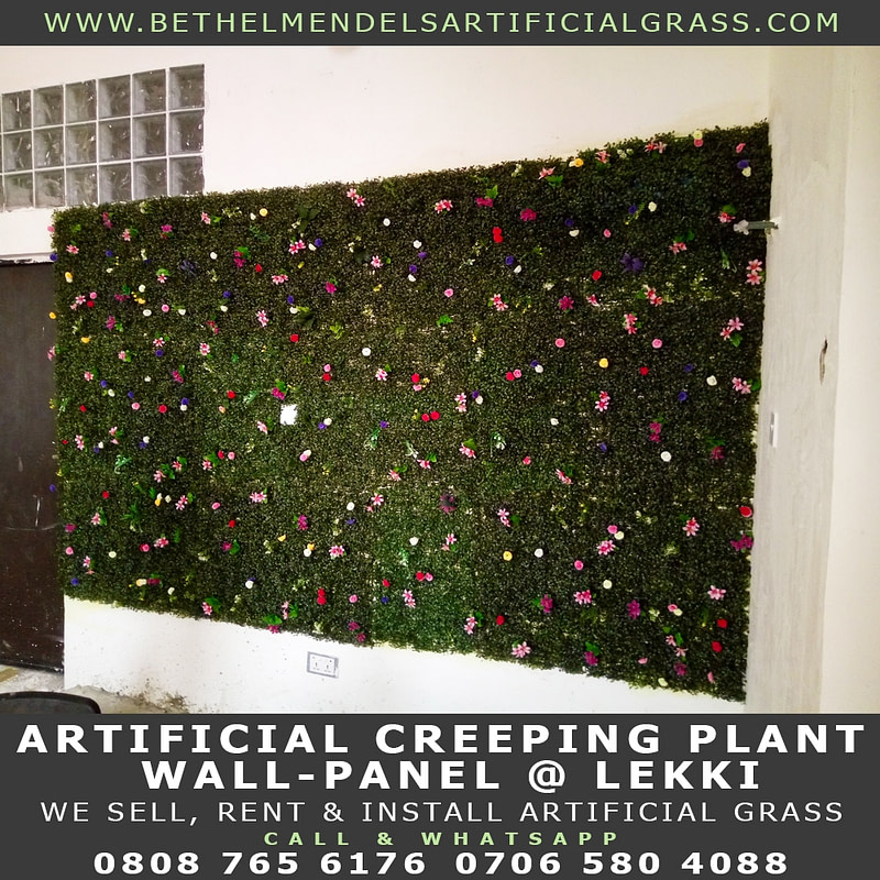 Artificial Wall Creeping Plants