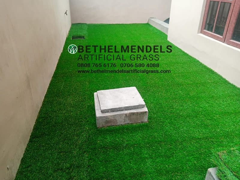Artificial Grass Installation At Eric Moor