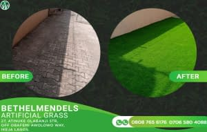 Using Artificial Grass on Your Walk Path