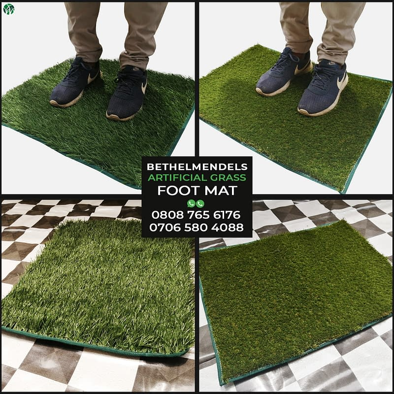 New Innovation – Artificial Grass Foot Mat