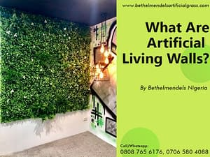 What are Artificial Living Walls or Vertical Gardens