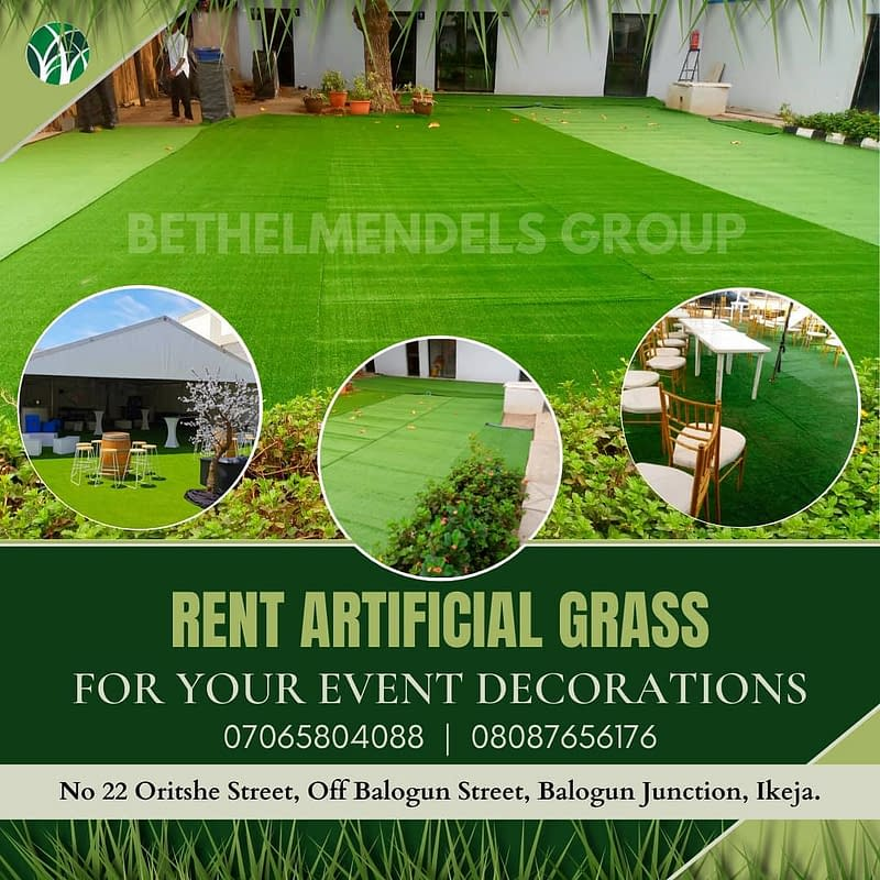 Artificial Grass for Exhibition and Events