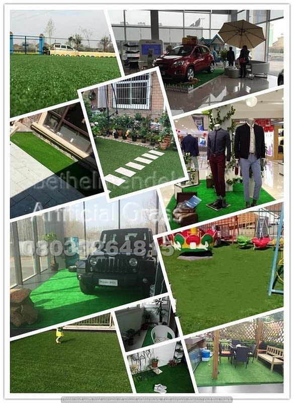 DID YOU KNOW THERE ARE DIFFERENT TYPES OF ARTIFICIAL GRASS FOR SPECIFIC USES?