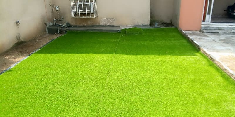 Read more about the article Artifcial Grass Installation at Alausa Ikeja Lagos
