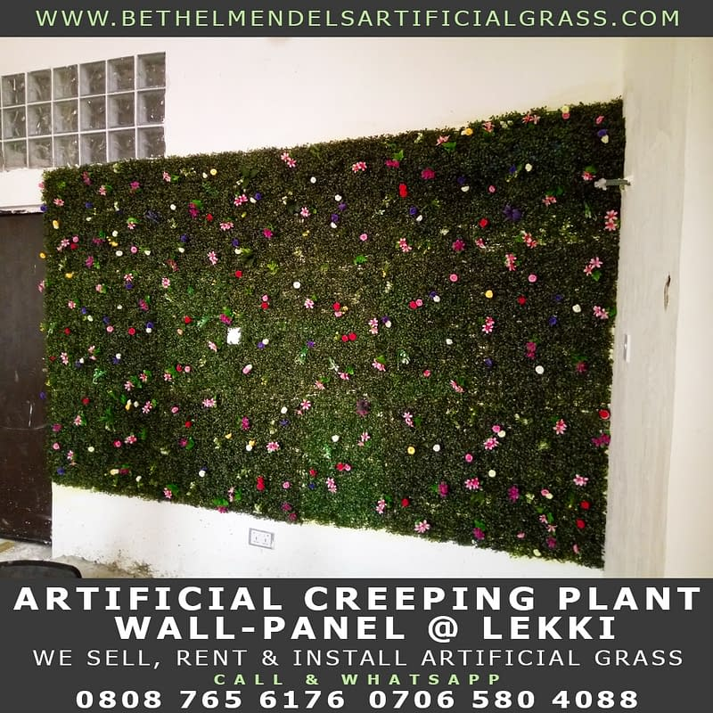 Artificial Creeping Plant for Wall Decoration