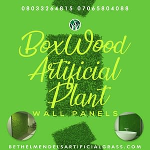 Boxwood Artificial Plant Wall Panels