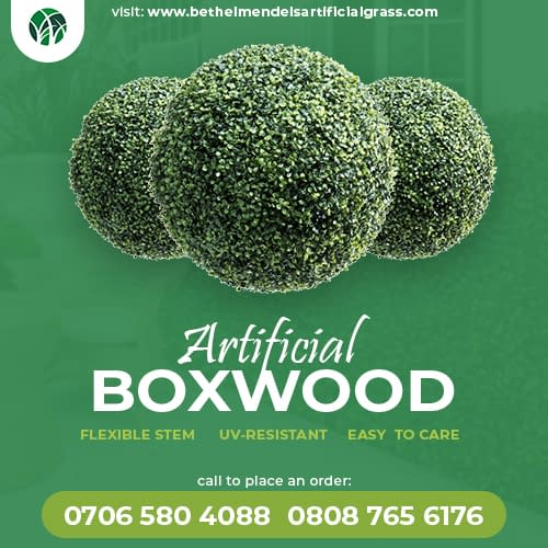 Artificial Booxwood Hedges