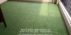 New Artificial Grass Installation At Magodo Phase One