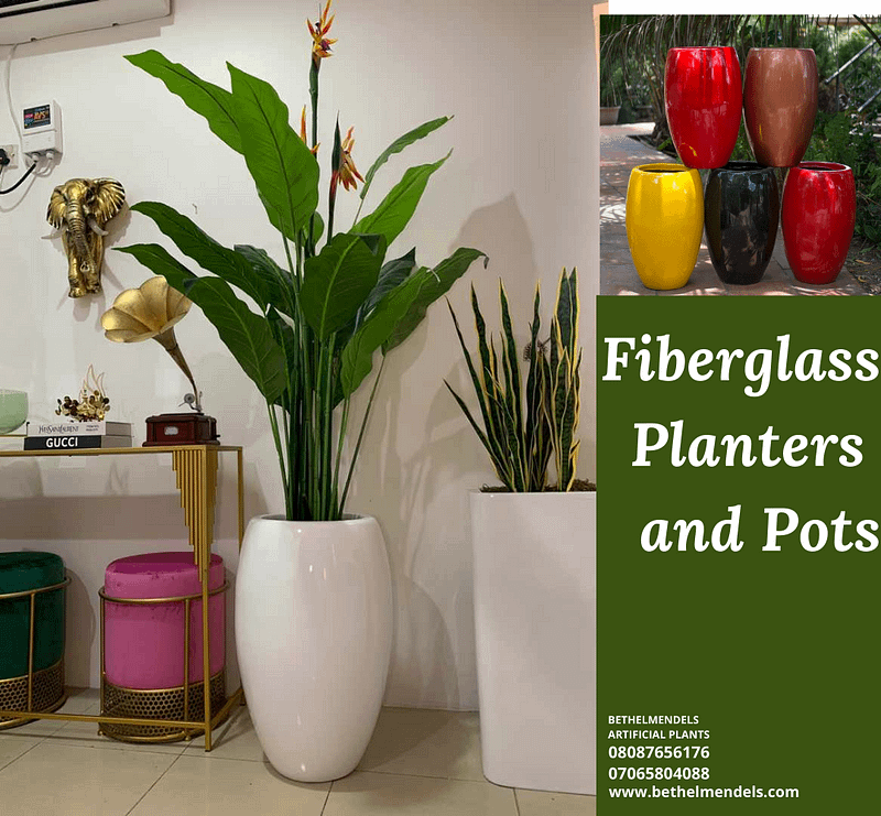 The Beauty of Fiberglass Planters and Pots For Plants.