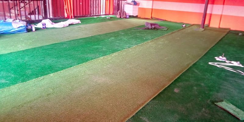 Artificial Grass Installation At Agege Lagos