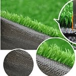 10 mm green color synthetic grass