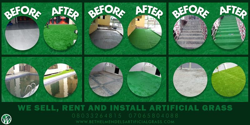 We Rent, Sell & Install Artificial Grass