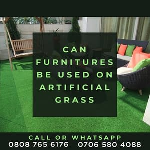 Using Furniture On Artificial Grass