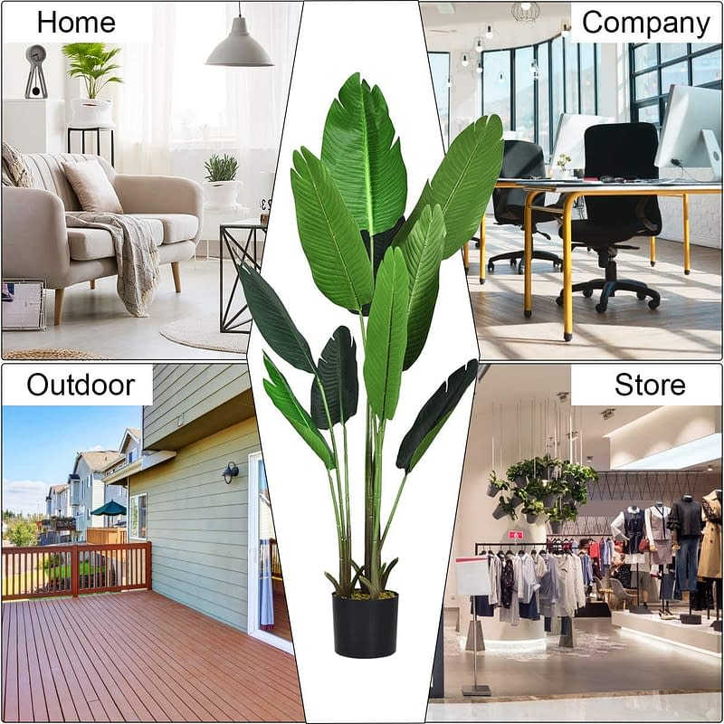 How to decorate your home with artificial plants
