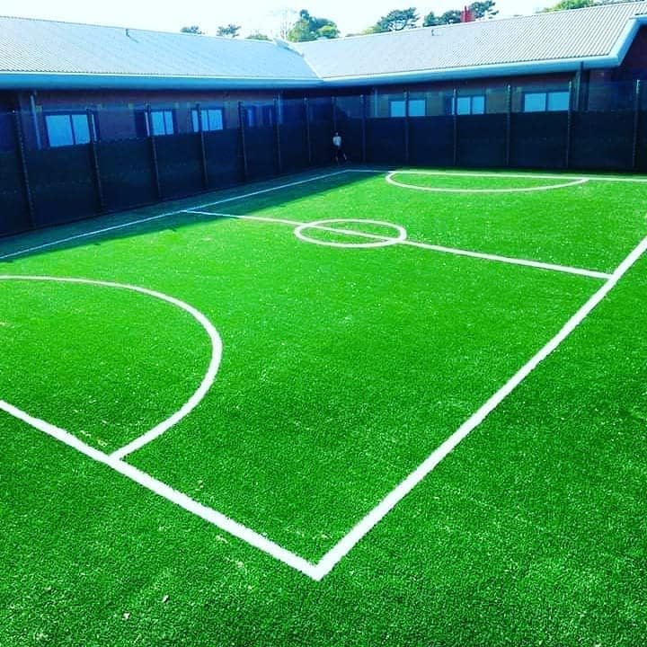 Artificial foor football pitch