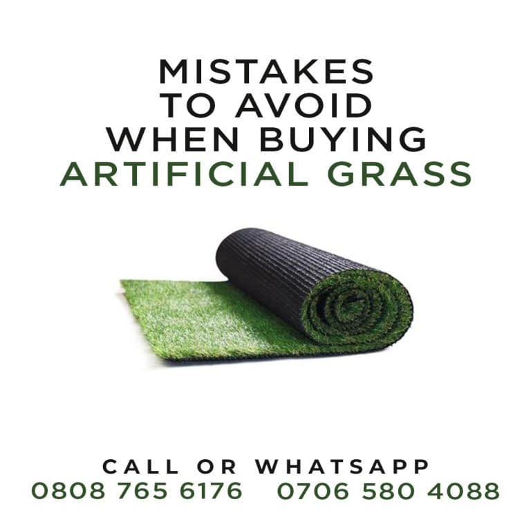 Common Mistakes Artificial Grass Buyers Should Avoid