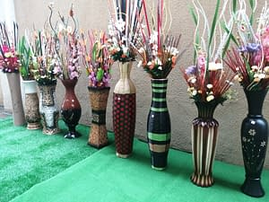 Exotic Vases With Luxurious Flowers