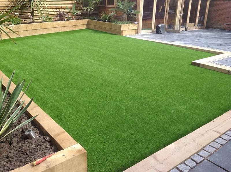 Landscape artificial green grass