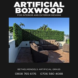The Application of Artificial Boxwood Hedges