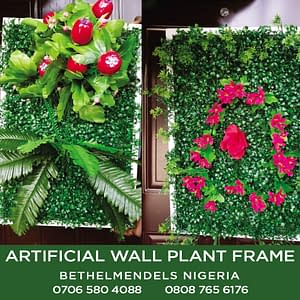 Artificial Plant Frame For Wall Decoration