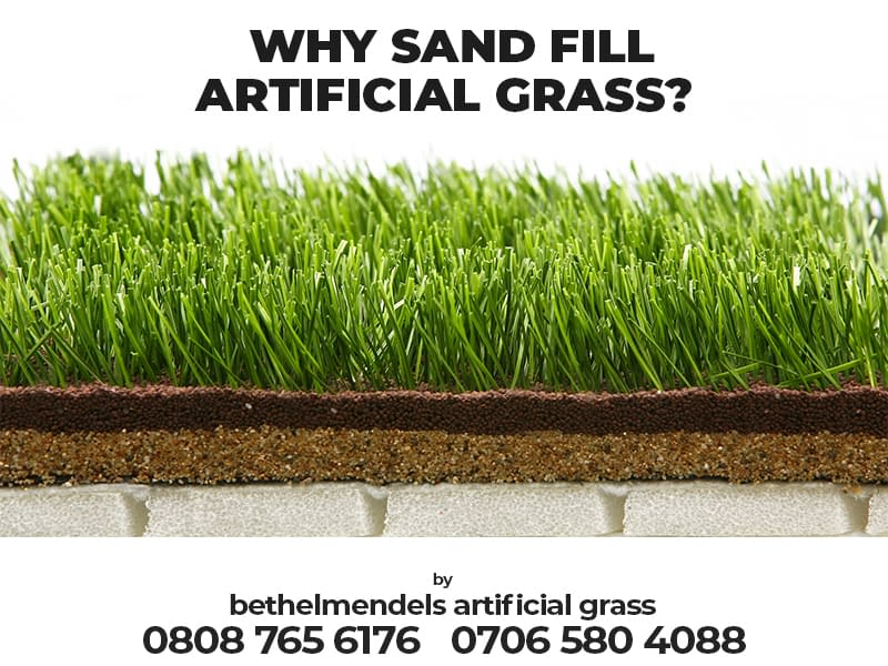 Why Does Artificial Grass Need Sand Infill?
