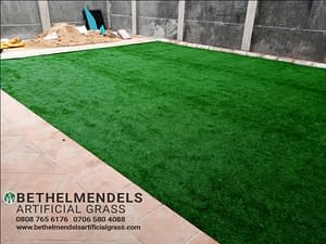 Read more about the article Artificial Grass Installation In Nigeria Ogudu, Lagos.