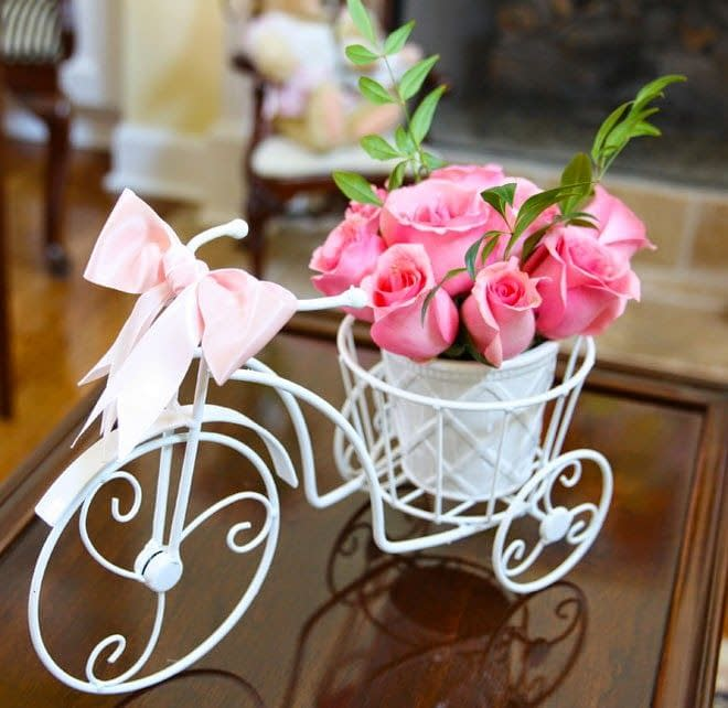 Metal Wire Bicycle Tricycle for Souvenirs, Gifts and Decoration.