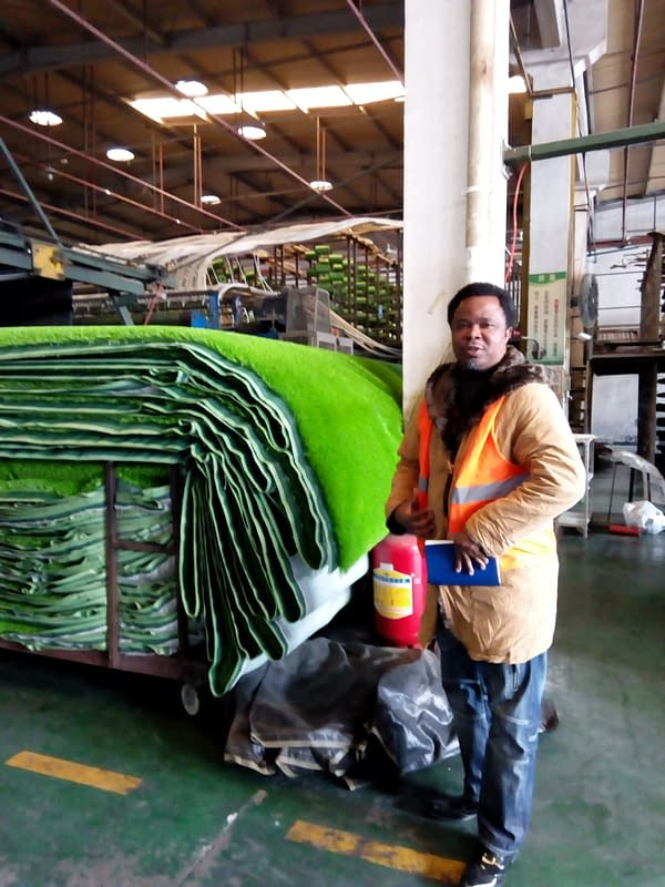 You are currently viewing Nigeria's Number one major importer of artificial/synthetic grass/turf. ( CHINA TOUR)