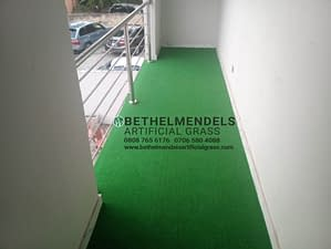 Read more about the article Artificial Grass Installation At Adeniyi Jones, Ikeja Lagos